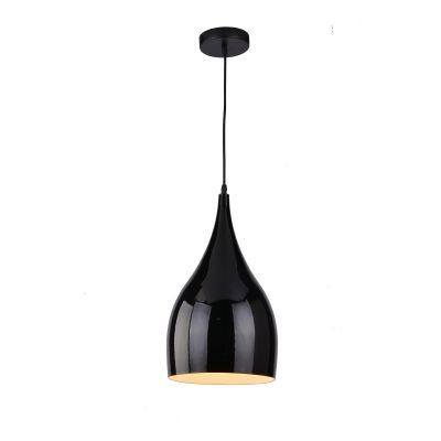 Zish 260 Black 1 Light Pendant - P1220ZIS26BLK