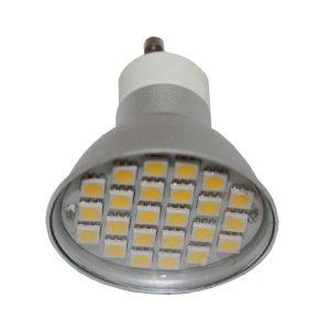 4w GU10 LED Globe - LED4WGU10 - PW - CW - WW