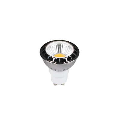 5w COB GU10 LED BLUE Globe - LEDGU10BLCOB5W