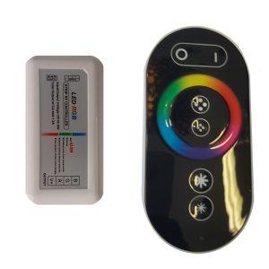 Touch 2 Fade Black Remote Control RGB - RCRGBTF2BLK