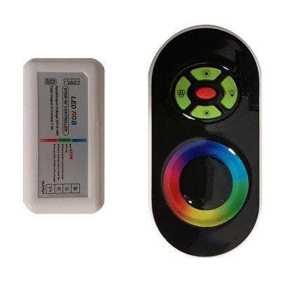 Touch Fade Black Remote Control RGB - RCRGBTFBLK